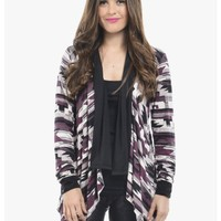 Black Cardi All The Way Open Front Cardigan | $10.00 | Cheap Trendy Cardigans Chic Discount Fashion