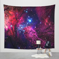 Galaxy! Wall Tapestry by Matt Borchert