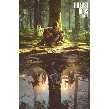 """The Last of Us Part II Video Game Poster (24""""x36"""")"""