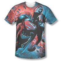 Superman Red Sun Sublimation T-Shirt
