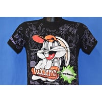 90s Bugs Bunny Loonatic Streetwear t-shirt Youth Large