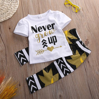 Never Grow Up Pants 2pc Outfit