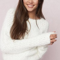 Slouchy Cloud Sweater