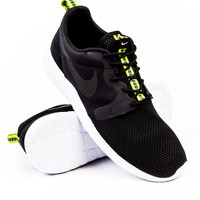 Nike Roshe One Hypefuse Black/Anthracite/Venom Green Sneaker