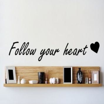 Follow your heart - G Direct Wall Stickers
