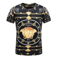 Versace T-Shirt Top Tee-28