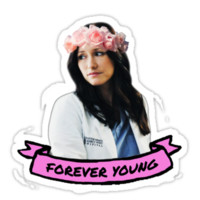 Greys Anatomy - Forever Young Sticker