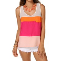 -colorblock Sleeveless