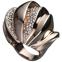 Bel Air Rose Gold Sculptural Ring::Rings::Jewelry By Category::Alexis Bittar