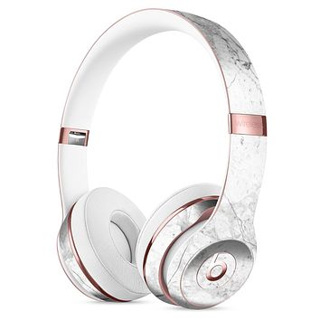 Cracked Marble Surface Full-Body Skin Kit for the Beats by Dre Solo 3 Wireless Headphones