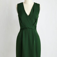 Mid-length Sleeveless Sheath Pining for Fine Dining Dress by ModCloth