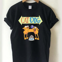 CatDog logo T-shirt Men, Women Youth and Toddler