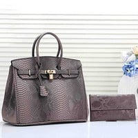 Women Fashion Leather Satchel Shoulder Bag Handbag