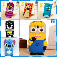 3D Minions Phone Silicone soft Case Cover For Samsung Galaxy Grand Prime VE G531 SM-G531H G531F G530 G530F G5308 Cases Gel Shell