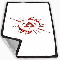 Legend of Zelda Triforce Custom Glitter Blanket for Kids Blanket, Fleece Blanket Cute and Awesome Blanket for your bedding, Blanket fleece **