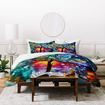 Madart Inc. A Moment In Time Duvet Cover