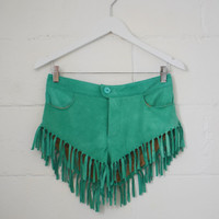 Cowgirl Dreams Tassel Shorts - Turquoise   Spell & the Gypsy Collective