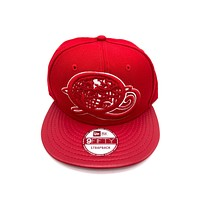 New Era x Secret Society Q-Globe Queens Red 9FIFTY Strapback Hat
