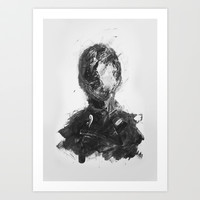 delusion Art Print by faris osaimi