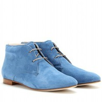 mytheresa.com -  Tod's - SUEDE DESERT BOOTS  - Luxury Fashion for Women / Designer clothing, shoes, bags