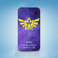 Legend of Zelda Triforce  customized for iphone 4/4s/5/5s/5c ,samsung galaxy s3/s4/s5 and ipod 4/5 cases