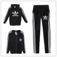 Adidas  Fashion  Unisex  Pattern  Print  Casual  Autumn  Simple  Couple  Stripe  Three-piece Suit