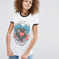 ASOS x PINGU T-Shirt with Noot Your Babe Print by Phiney Pet at asos.com