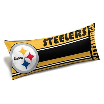Pittsburgh Steelers NFL Full Body Pillow (Seal Series) (19x48)