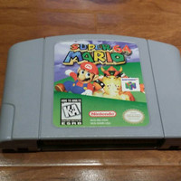 Free shipping- Super Mario 64 n64 Nintendo 64 console system game