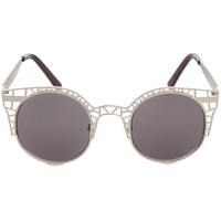 Paolo Chic Sunglasses in Silver
