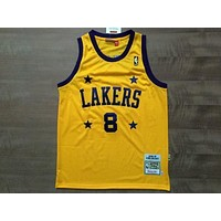 LA Lakers 8 Kobe Bryant 2004-05 Retro Swingman Jersey