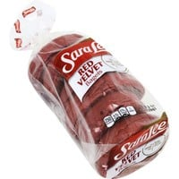 Sara Lee Red Velvet Bagels, 19oz., 6pk. - Walmart.com