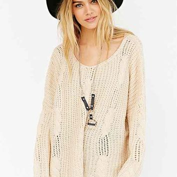 UNIF X UO Cable-Knit Sweater-