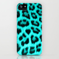 Wild Blue iPhone Case by Veronica Ventress