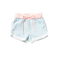 Skye Pom Pom Short MERMAID