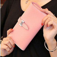 Real Wallet Purse with Large Capacity and Multi-Card Holder