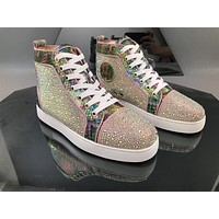 Christian Louboutin CLWomen Men New popular Casual Shoes Sneaker Sport Running Shoes