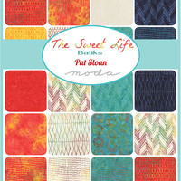 The Sweet Life Batiks Jelly Roll by Pat Sloan for Moda Fabrics