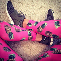 Pineapple Surf Legging