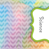 Back to School! Swirly Paint Binder Dividers - Science Class