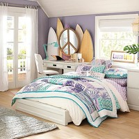 Paramount Floral Surf Bedroom