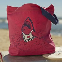 Surf's Up Tote - So Cal Surfer