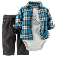 Carter's Dog Bodysuit Set - Baby Boy, Size: