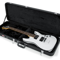 Hard-Shell Wood Case for Electric Guitars