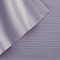 Amrapur 400 Thread Count 100 Percent Tencel Pin Stripe 4 Piece Sheet Set In Lavender And Purple