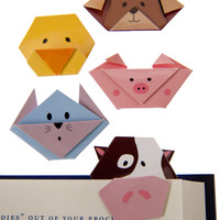 Magnetic Animal Bookmarks (set of 5)