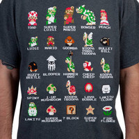 Cast of Super Mario Bros Shirt
