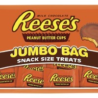 REESE'S Peanut Butter Cups (Snack Size, 19.5-Ounce Bags, Pack of 2)