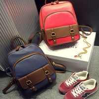 Stylish Hot Deal Casual Comfort Back To School College On Sale Summer Korean Ladies Canvas Backpack [8384590023]