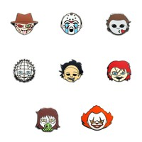 Horror Emoji 8-Pin Set